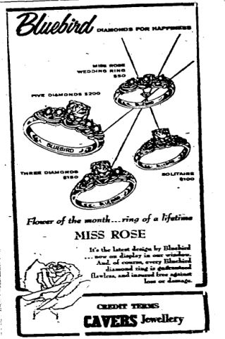1959 Cavers ad