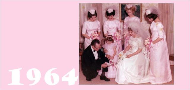 1964 pink brides