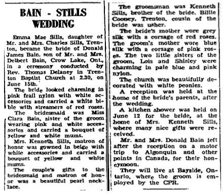 Bain Stills 1957