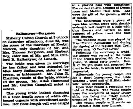 Ballantyne Ferguson 1945 # 2
