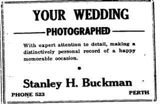 Buckman photographer 1950
