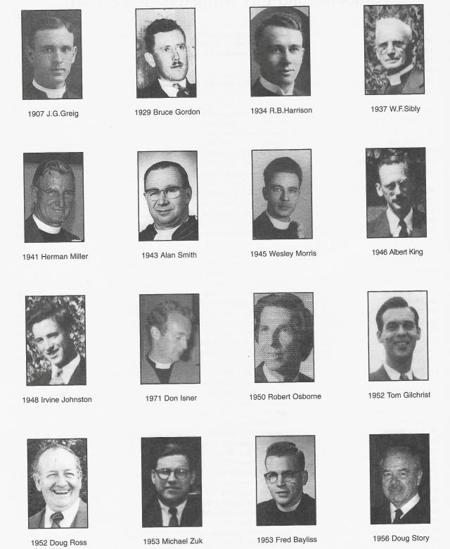Calvin Church ministers 1