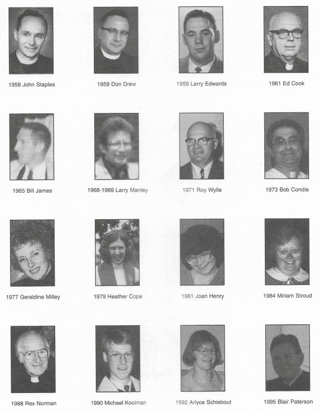 Calvin Church ministers 2