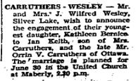 Carruthers Wesley 1951