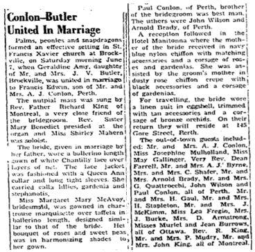 Conlon Butler 1952
