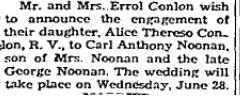 Conlon Noonan 1950