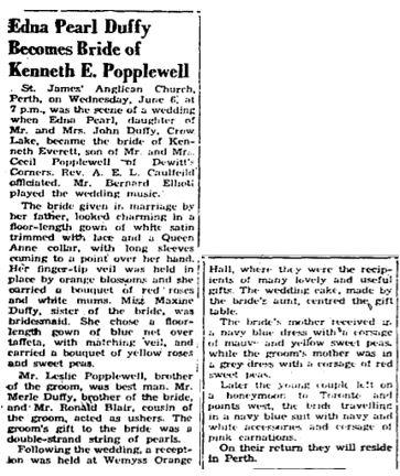 Duffy Popplewell 1951