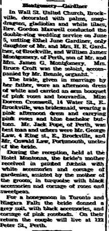 Gardiner Montgomery 1946