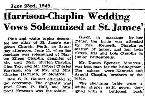 Harrison Chaplin 1949