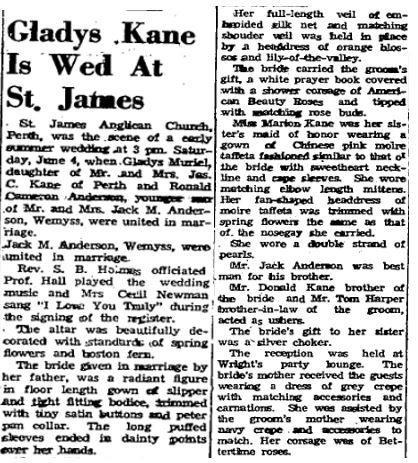 Kane Anderson 1949