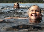 kids in the water