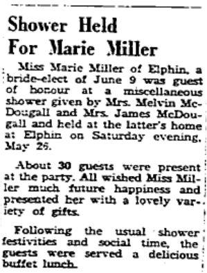 Marie Miller 1962