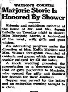 Marjorie Storie 1947