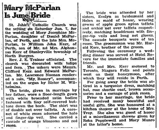 Mary McParlan 1947