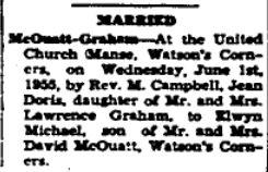 McCouatt Graham 1955