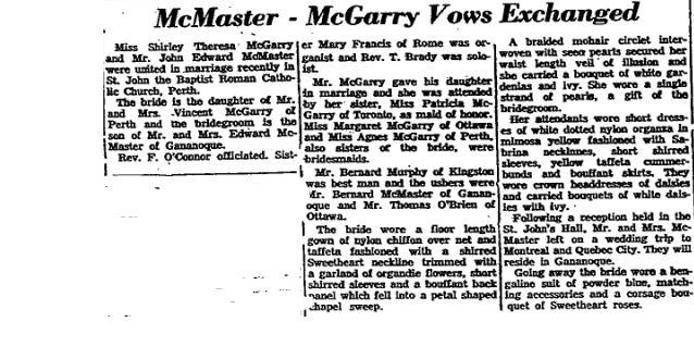 McGarry 1958 part 2