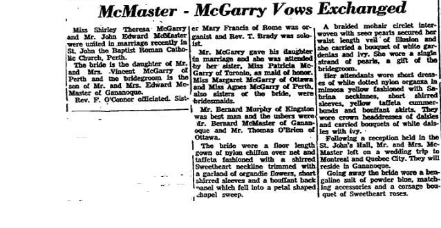 McGarry 1958 part 2