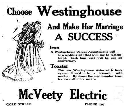 McVeety electric 1948