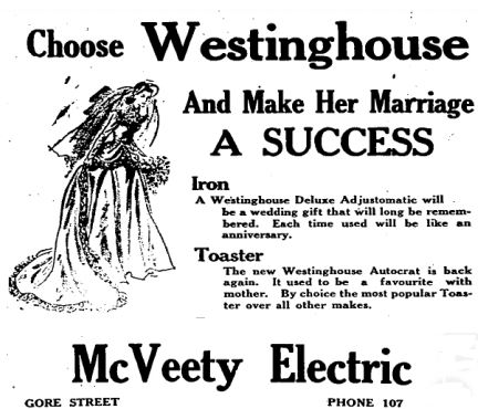 McVeety electric 1948
