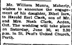 Munro Clark 1956