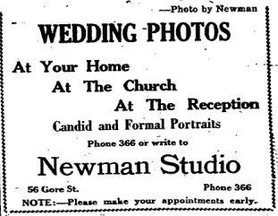 Newman photos 1949