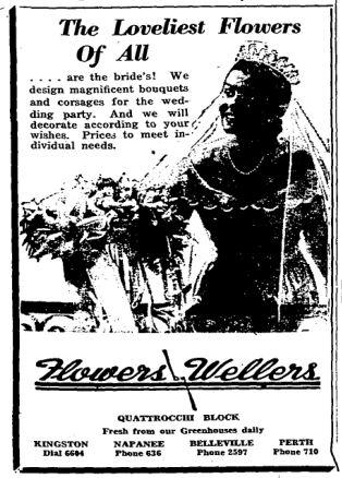 Perth flower ad 1948