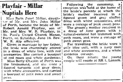 Playfair Millar 1951