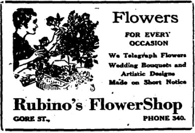 Rubinos flower shop