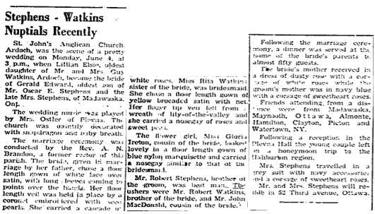 Stephens Watkins 1951