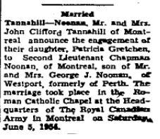 Tannahill Noonan 1954
