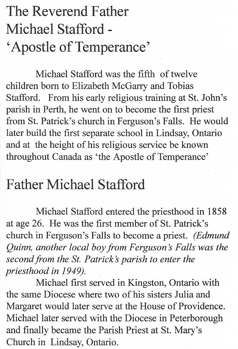 Father Michael Stafford # 2