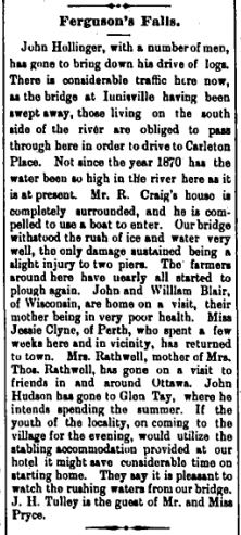 Ferguson Falls high water April 24 18896 p.1
