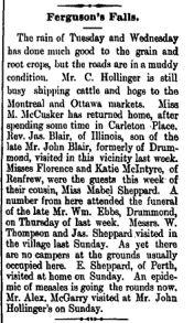 Ferguson Falls Hollinger McGarry July 30 1897 p 1