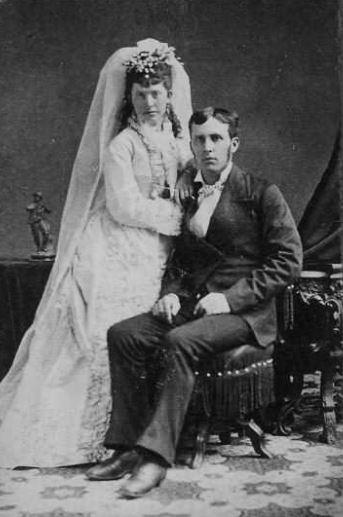 Teresa Hollinger Richard Nagle wedding day