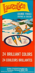 Laurentian coloured pencils