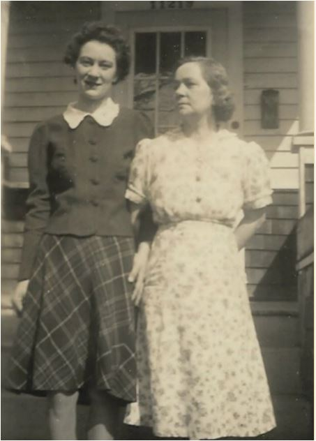 Mother and Granny Rutherford
