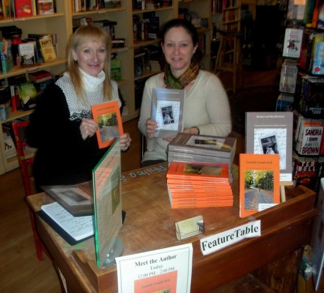 Book Nook Book Signing Arlene & Leslie Dec 16 20120001