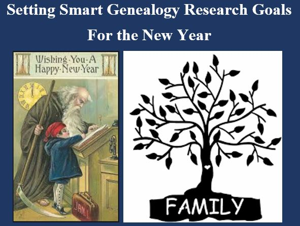 New Year genealogy goals