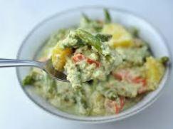 mushy vegetables