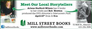 Mill Street Books Ad April 13 2013