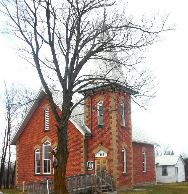 Calvin United Church brightened