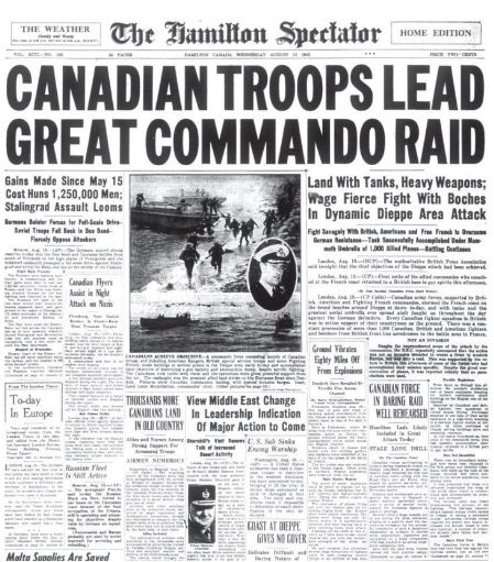 Canadian troops lead raid