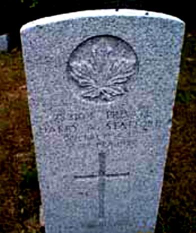 Harry's grave stone