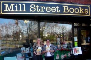 Mill St Books Arlene & Mary outside Nov 16  20130001