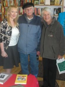 Mill St Books Arlene with Alan & Peggy Mackey Nov 16  20130001
