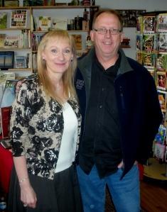 Mill St Books Arlene with David Somerville Nov 16  20130001