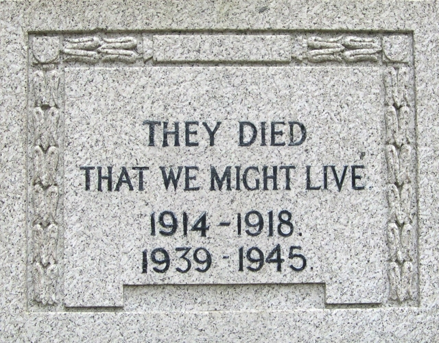 They died that we might live