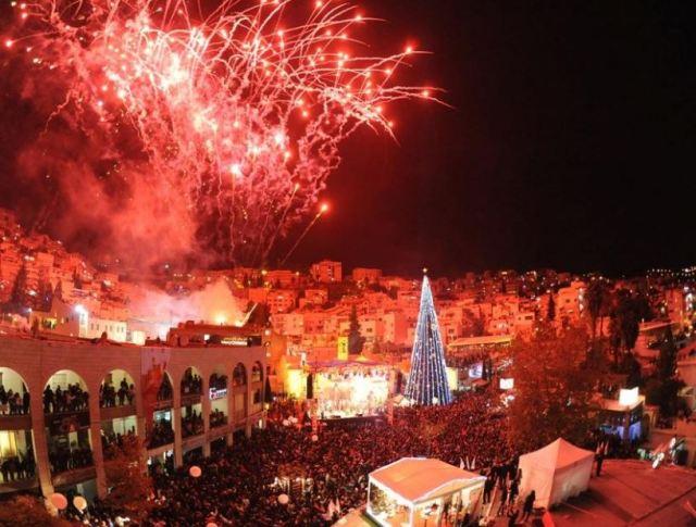 Bethlehem fireworks