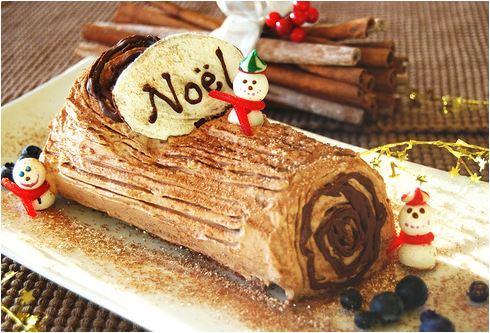 France yule log