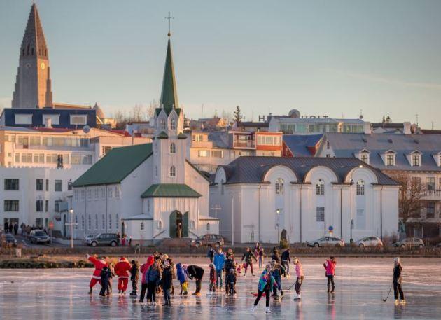 Iceland skating